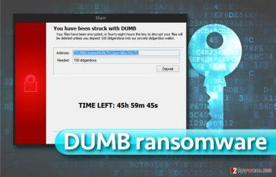 Dumb ransomware virus