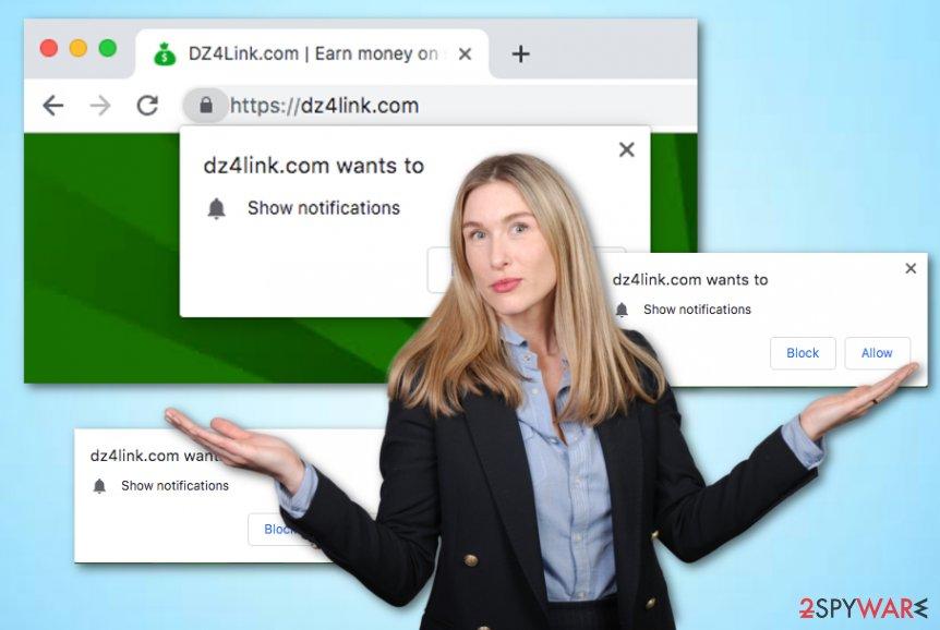 Dz4link.com rogue site