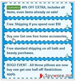 SaveNShop ads snapshot