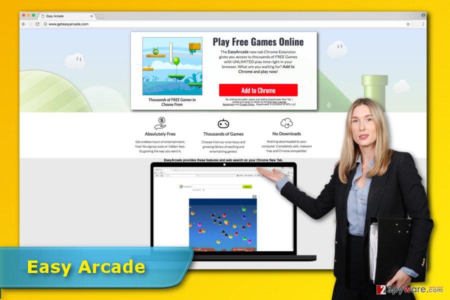 Easy Arcade virus