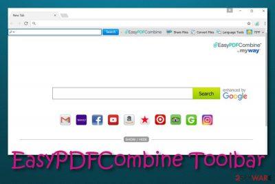 EasyPDFCombine Toolbar virus