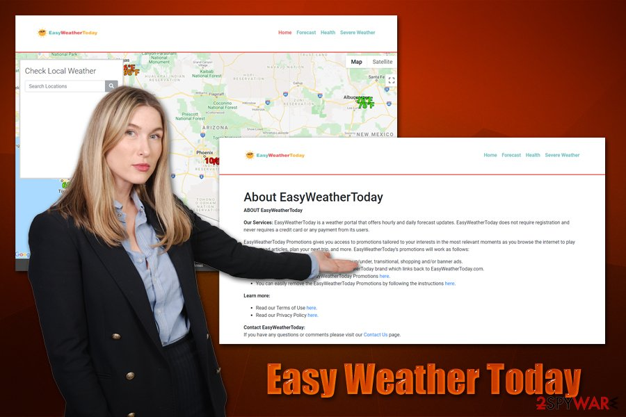 Easy Weather Today adware