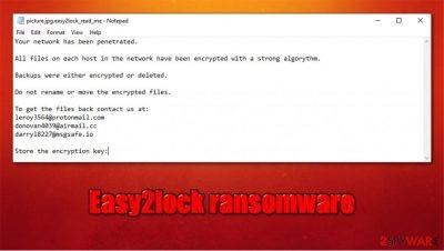 Easy2lock ransomware