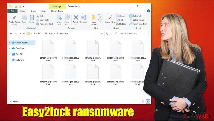 Easy2lock ransomware virus