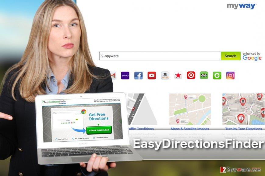EasyDirectionsFinder Toolbar image
