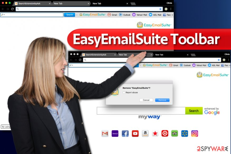 EasyEmailSuite Toolbar search