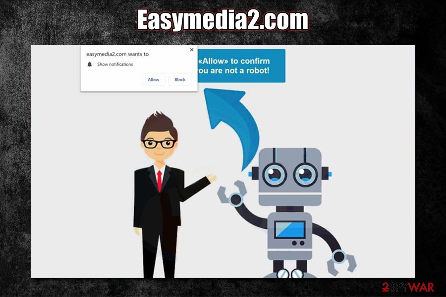 Easymedia2.com social engineering