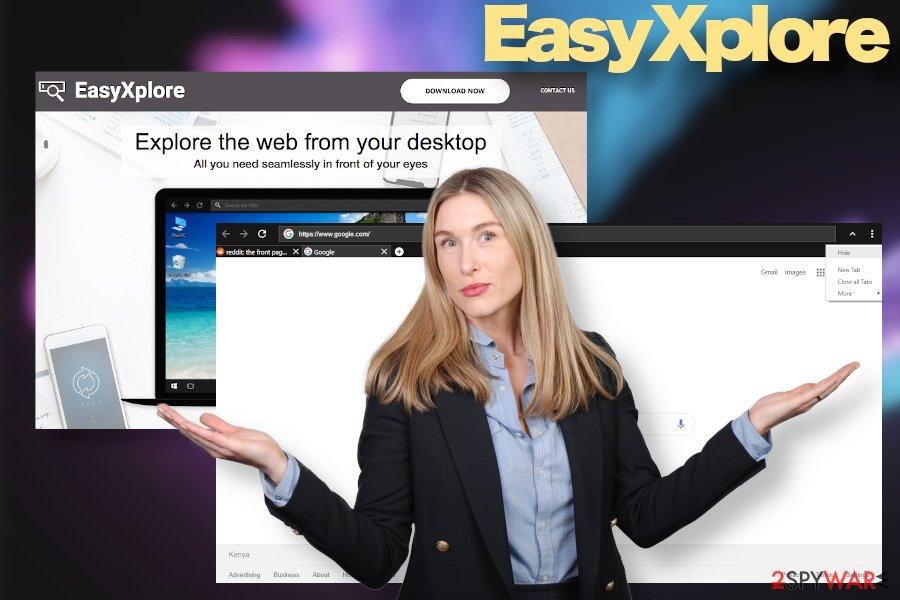 EasyXplore malware