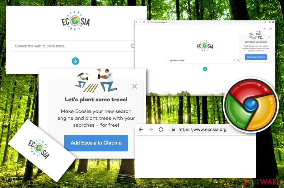 Ecosia extension