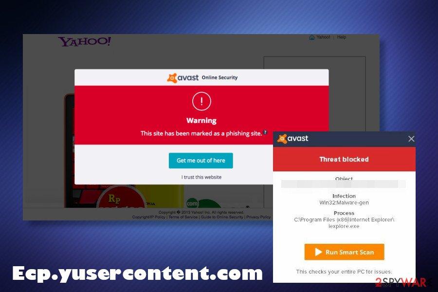 Ecp.yusercontent.com phishing website