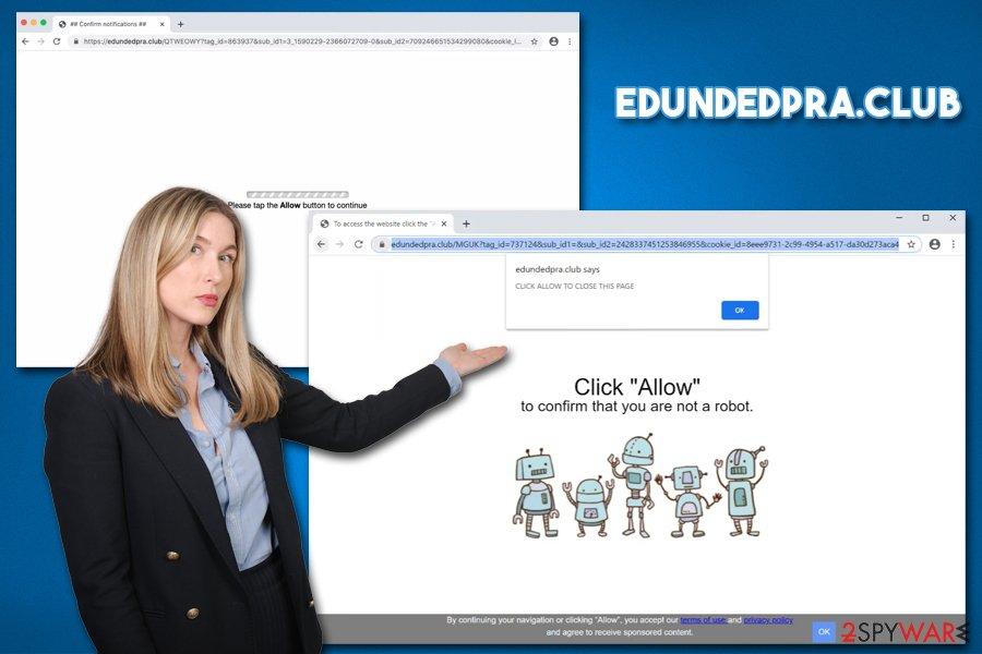 Edundedpra.club adware