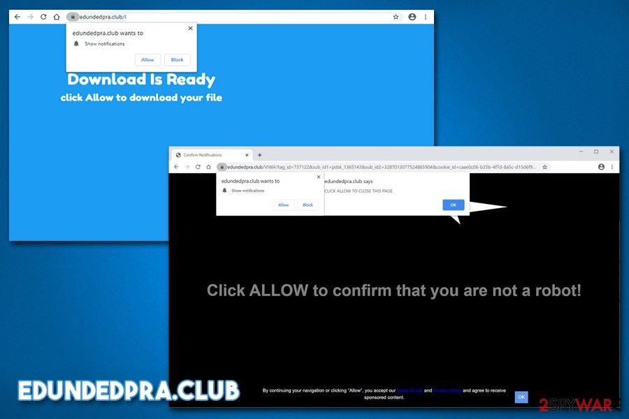 Edundedpra.club notifiations