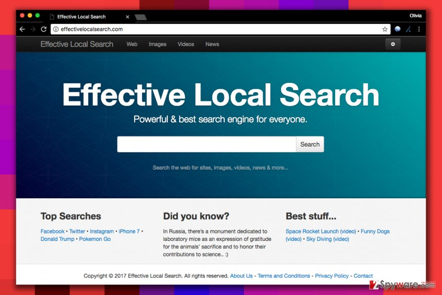 Effectivelocalsearch.com virus