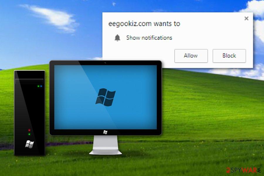 Eegookiz.com adware program