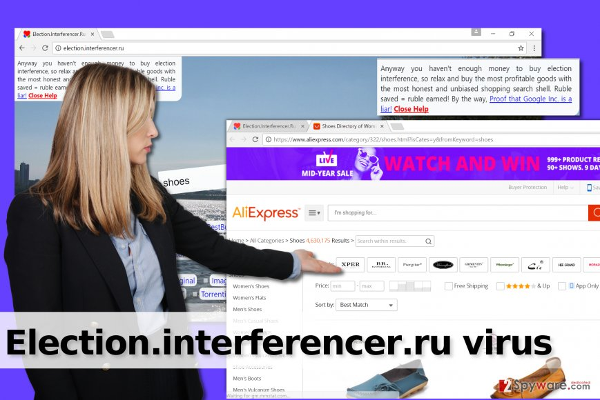 Election.interferencer.ru browser hijack