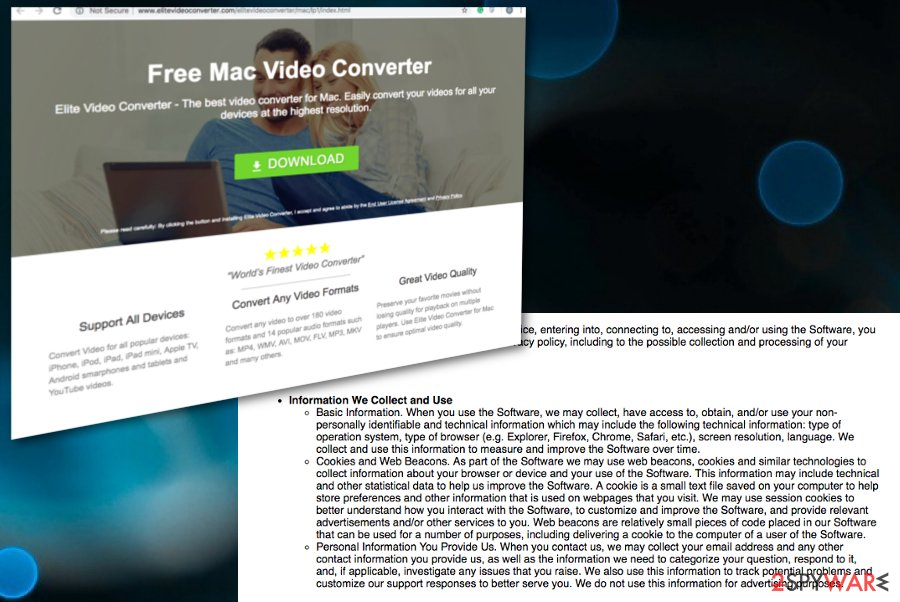 Elite Video Converter virus