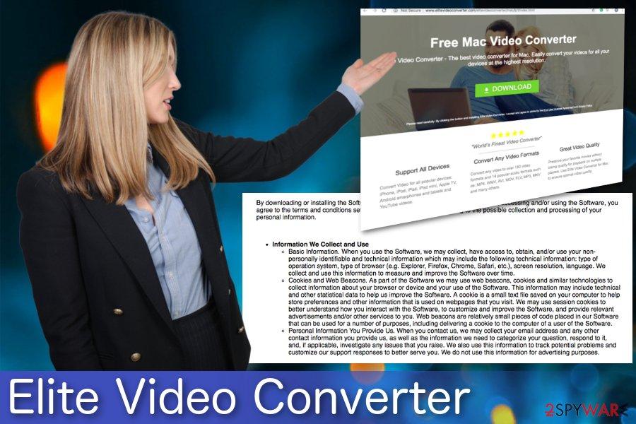 Elite Video Converter adware