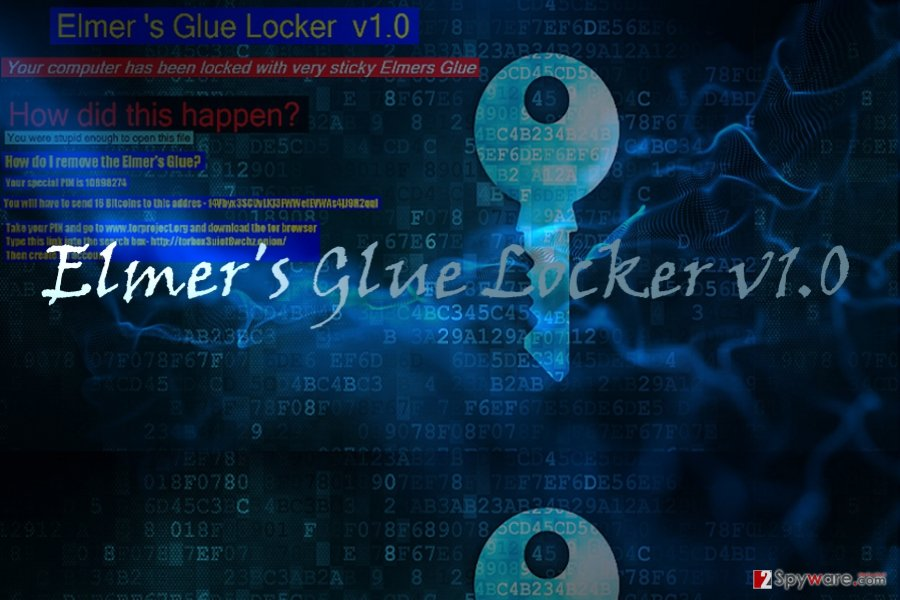 The example of Elmer's Glue Locker v1.0