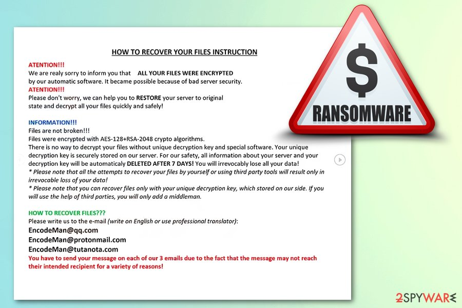 Remove Eman ransomware (Decryption Steps Included) - Removal