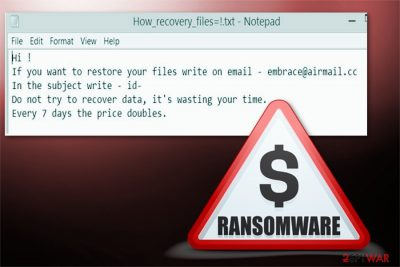 Embrace ransomware picture