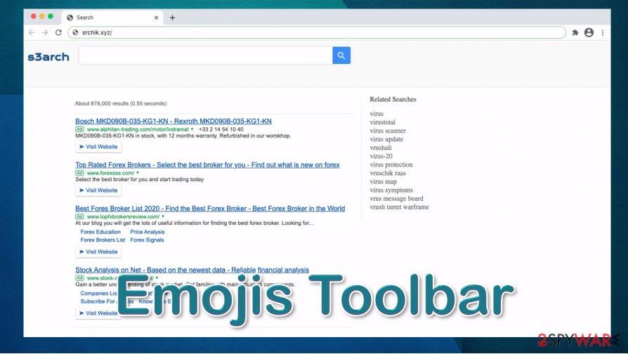 Emojis Toolbar