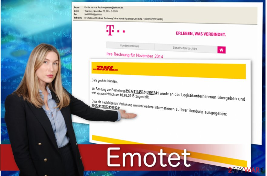 Emotet banking trojan spreads via fake invoice messages