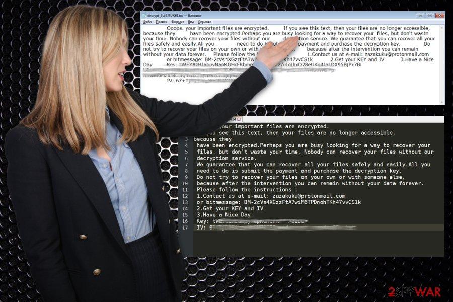 Enc1 ransomware virus