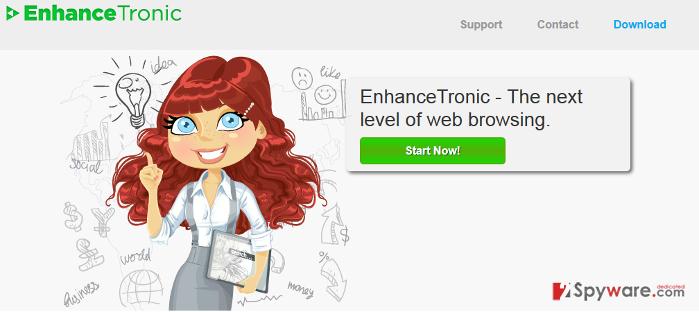EnhanceTronic ads snapshot