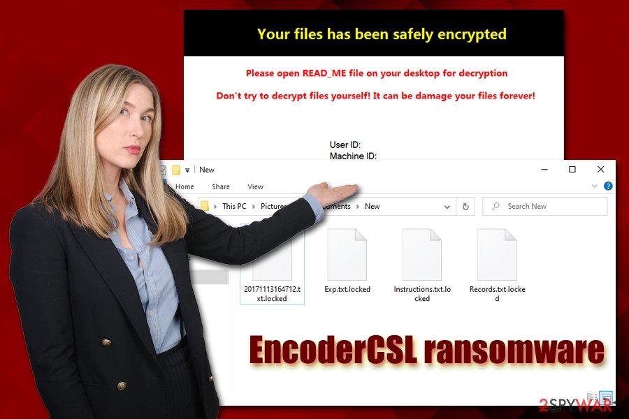 EncoderCSL ransomware virus