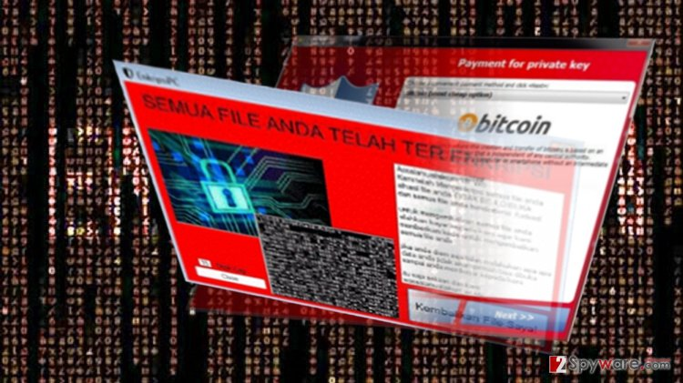 EnkripsiPC virus targets Indonesian users