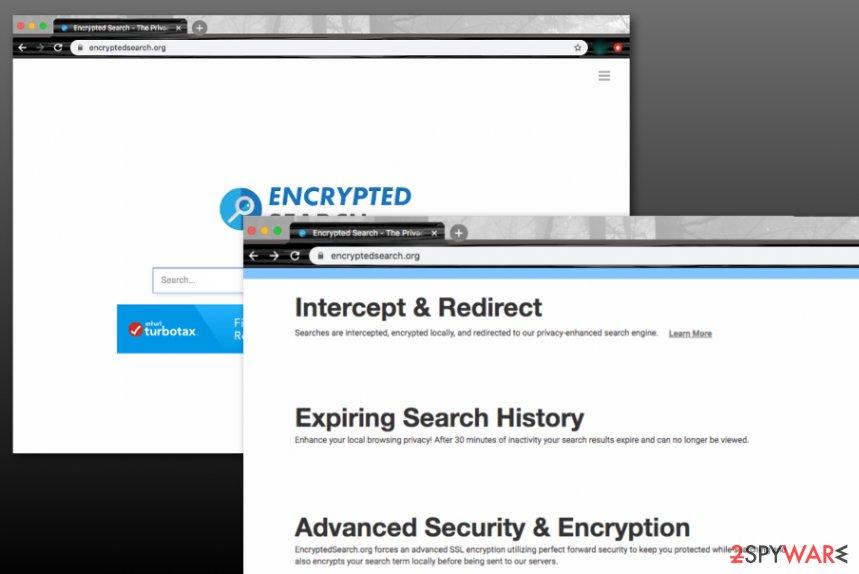 Encryptedsearch.org virus