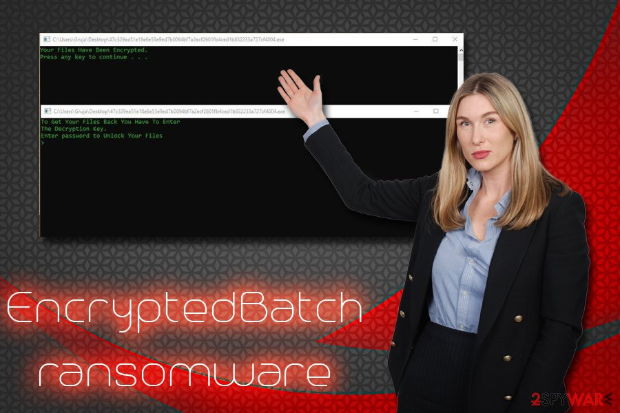 EncryptedBatch ransomware