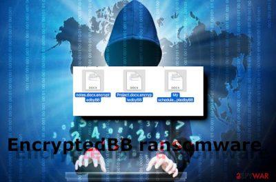 EncryptedbyBB ransomware virus