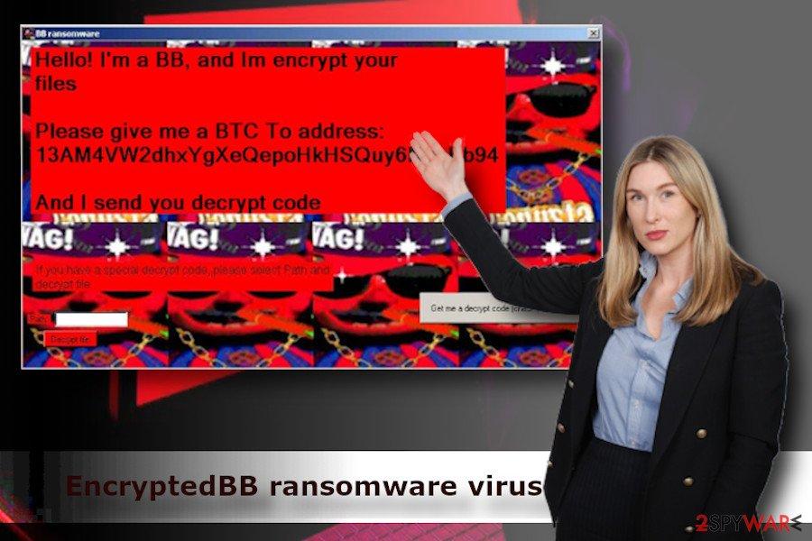 EncryptedbyBB crypto ransomware