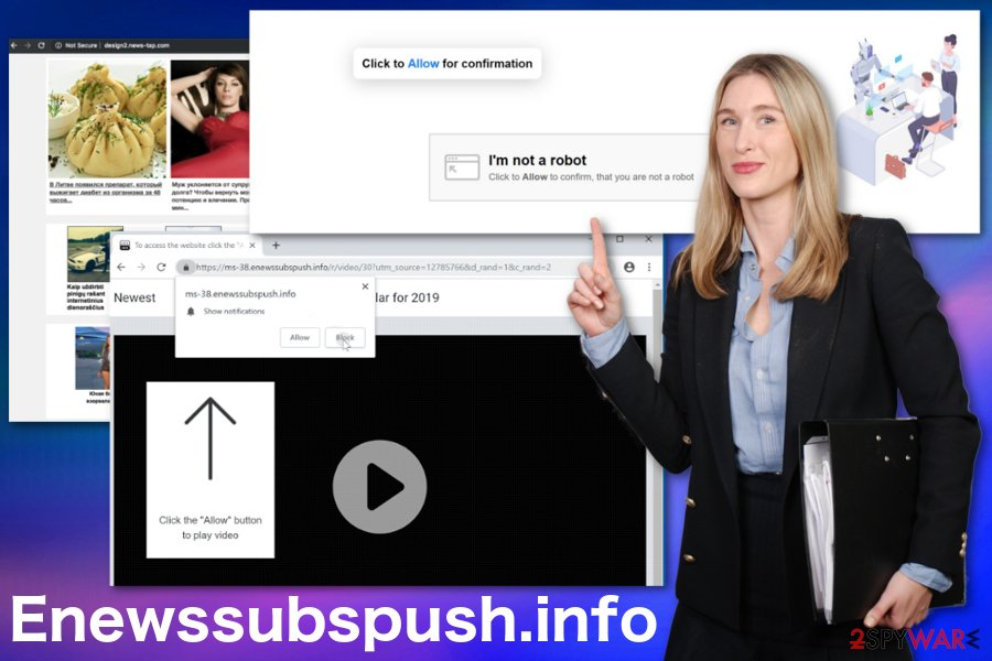 Enewssubspush.info adware