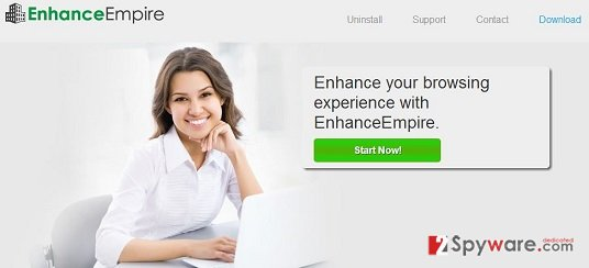 EnhanceEmpire Ads snapshot