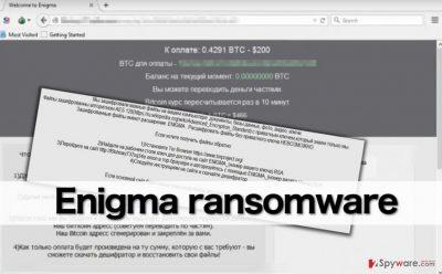 Enigma malware attacks Russian-speaking computer users