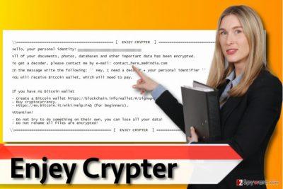 Enjey ransomware virus