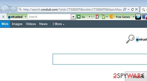 Entrusted Toolbar