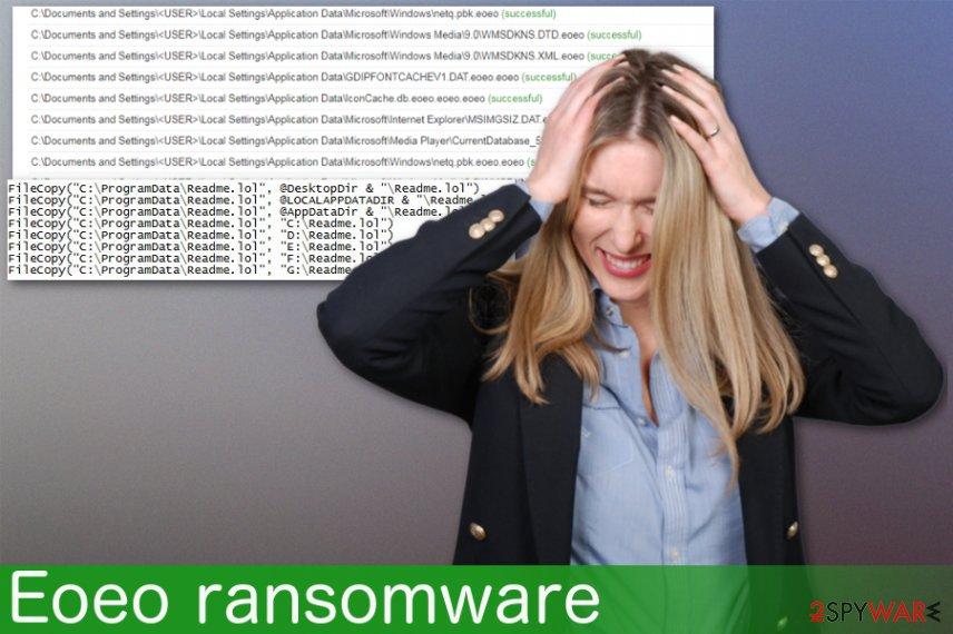 Eoeo ransomware virus