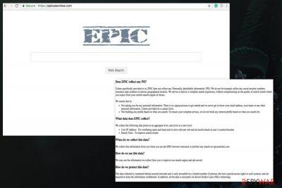 Epicsearches.com redirect