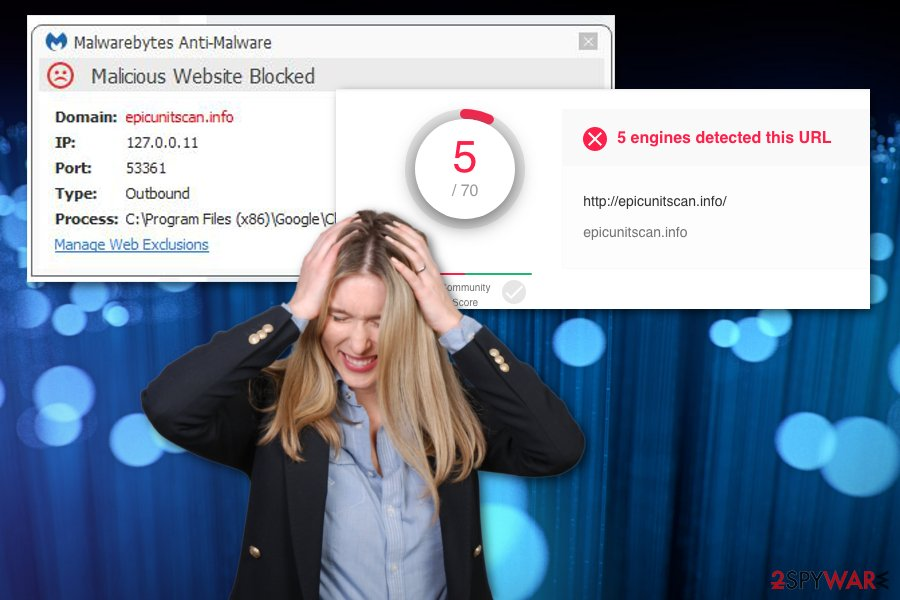 Epicunitscan.info adware