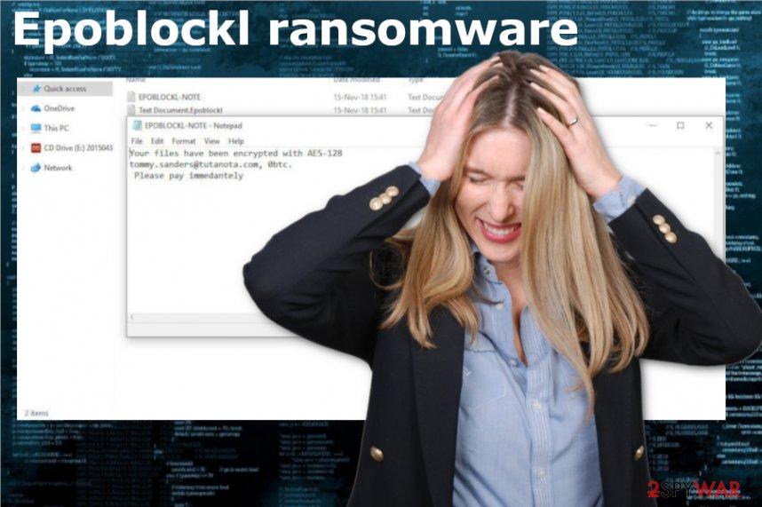 Epoblockl ransomware