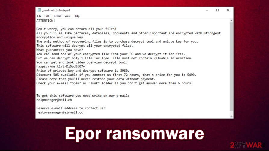 Epor ransomware