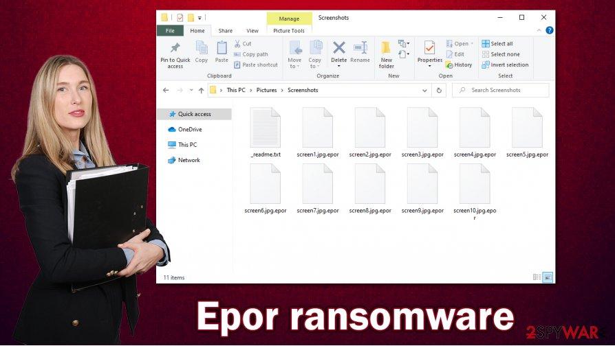 Epor ransomware virus