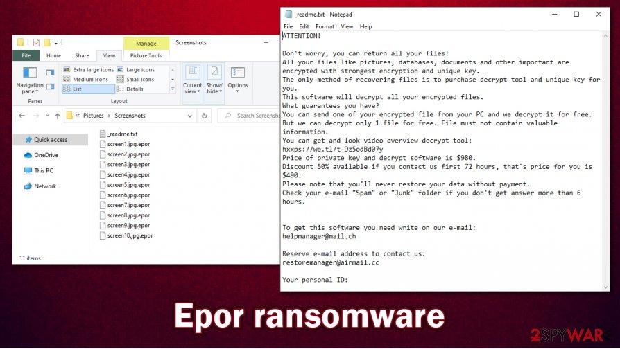 Epor virus files
