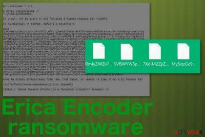 Erica Encoder ransomware