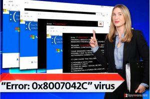 """Error: 0x8007042C"""" virus"""