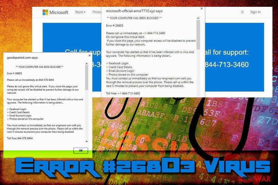 """""""Error #268D3"""" virus"""