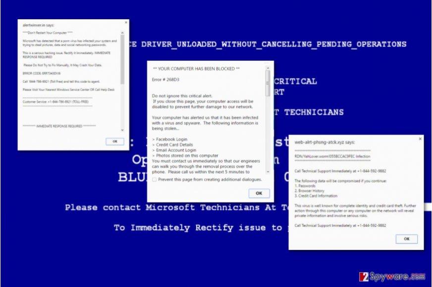 Error 3x3103fx virus